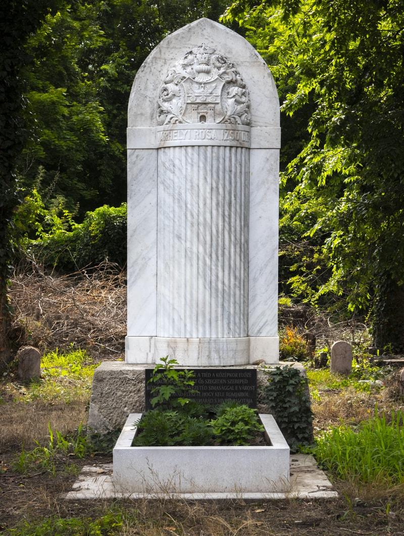 Grave of Dr. Várhelyi Rósa Izsó's